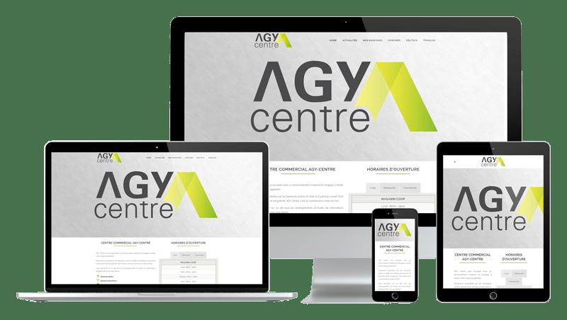 Présentation design responsive - Agy-Centre