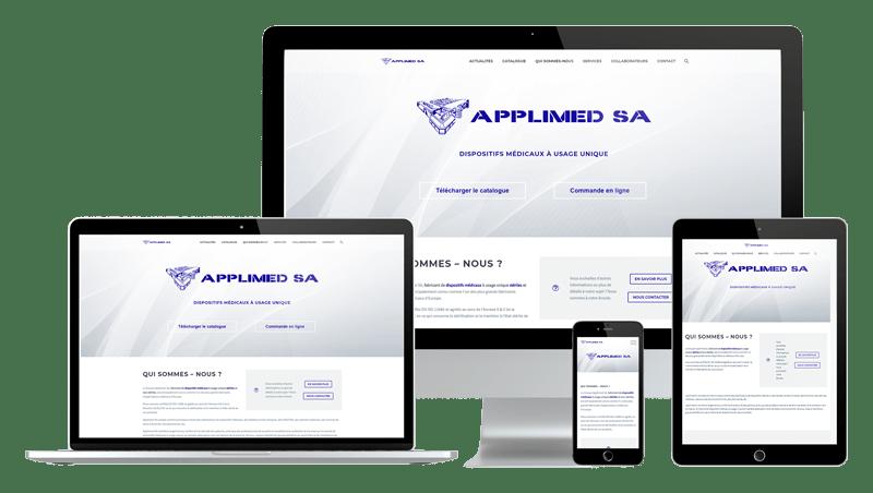 Présentation design responsive - Applimed SA