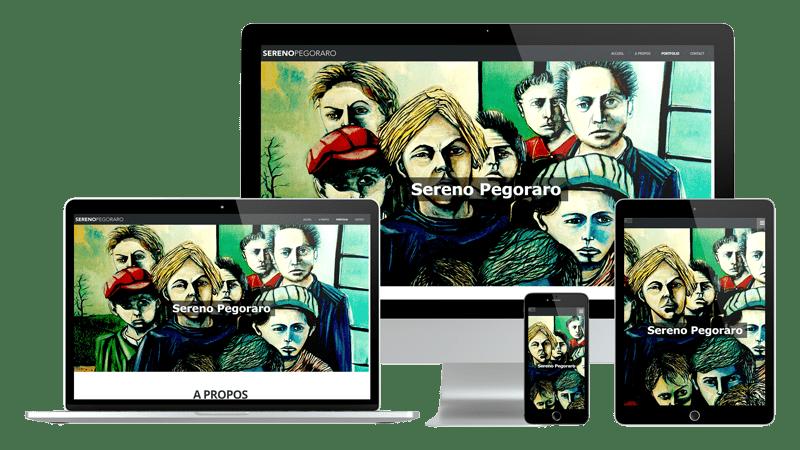 Présentation design responsive - Sereno Pegoraro